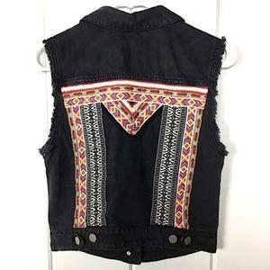 H&M Coachella sleeveless denim vest